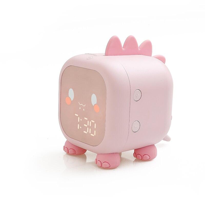 Kids Cute Dinosaur Digital Alarm Clock for Children