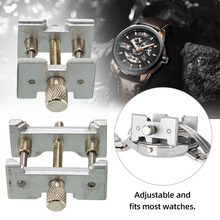 2pcs/Set Watch Case Holder Metal Watch Movement Holder Fixed