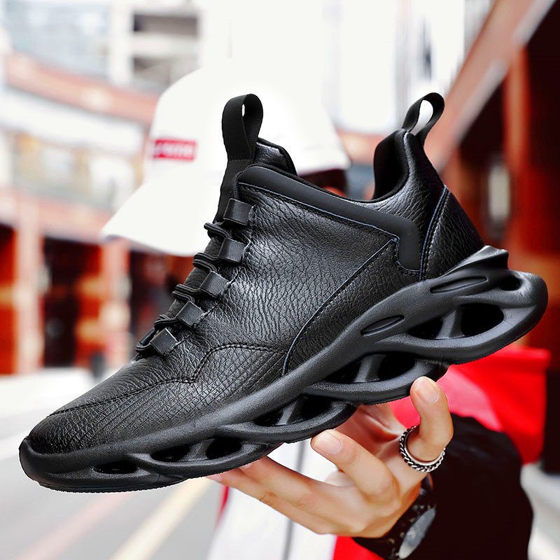 Men's Running Shoes Sneakers Outdoor Sport Shoes Comfortable Breathable Jogging Shoes Black Sneakers Chaussure Homme