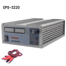 CPS-3220 Precision Compact Digital Adjustable DC Power Supply OVP/OCP/OTP 32V 20A 0.01V/0.01A cps 3205 5a 32v 160w portable adjustable mini dc power supply precision compact digital adjustable ovp ocp otp eu plug