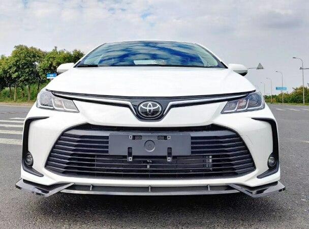 Для 2019 toyota corolla передний бампер спойлер PP и углеродного волокна Материал автомобиля resr крыло спойлер праймер цвет