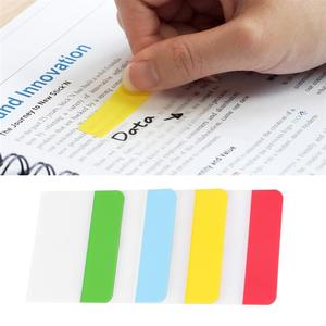 N Times Stickers Re-stickable Durable Bookmarks Classified Index Stickers Page Markers for Student Stationery Reading Accessory