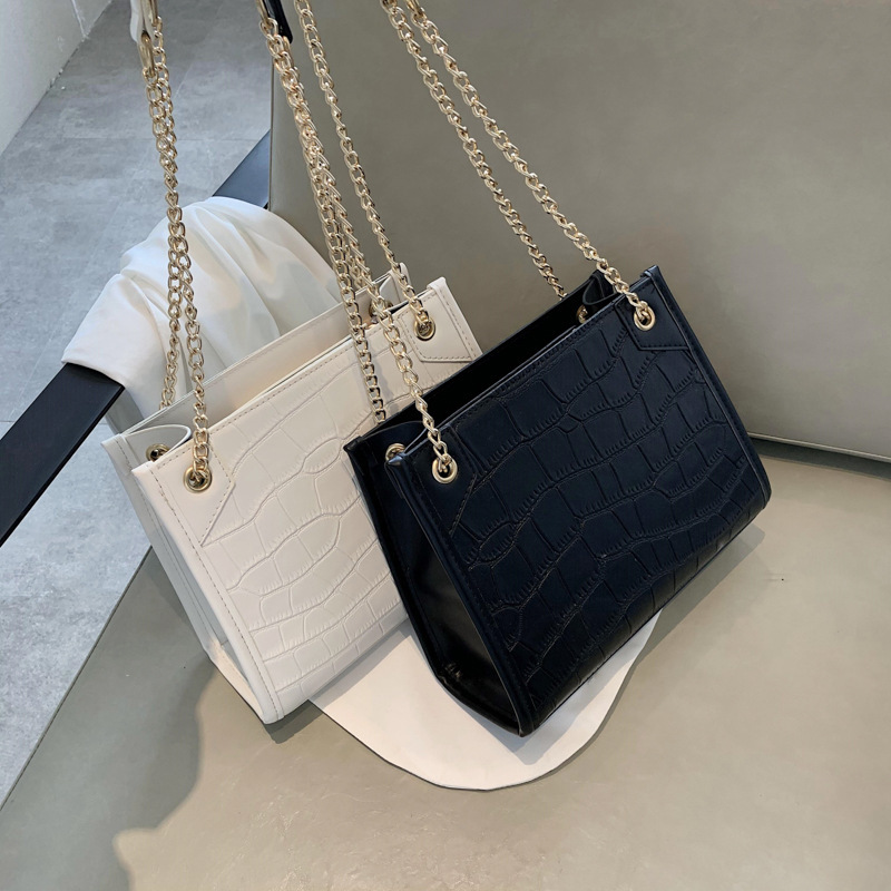 Direct Selling Mass WOMEN'S Bag 2020 New Style Fashion Versitile Fashion Chain Crossbody Bag New Arrival Toth Bags(China)
