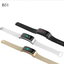 B31 Smart Band Colorful Screen Bluetooth Headset Talk Bracelet Blood Pressure Heart Rate Monitor Fitness Tracker Wristband