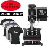 Persönlichkeit 15x15CM Label Wärme Drücken Maschine Digital Schaukel Wärme Transfer Logo Label Drucker Label Druck Maschine