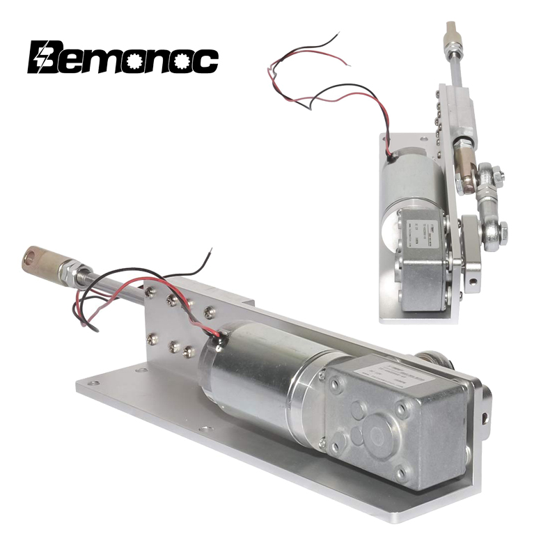 BEMONOC DIY Design 30 Degrees Automatic Wobble Handmade Assembly Reciprocating Electric 24V DC Motor Low Speed 20 RPM Adjustable