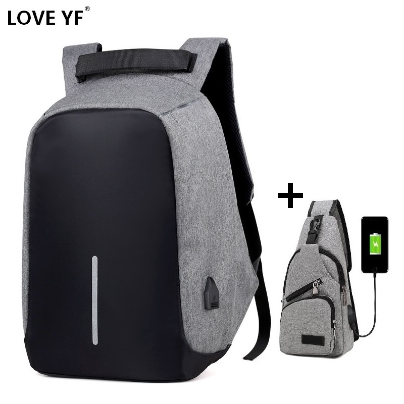 Multifunction School Bags Teenager Anti Thief Backpacks Men's And Women's Waterproof Travel Backpack Notebook Rucksack