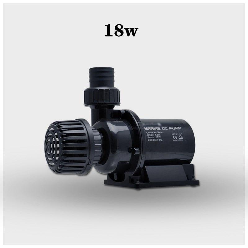 2500L/H 2.5m DC 24V Water Circulation frequency conversion Water Pump for aquarium fish tank Filter
