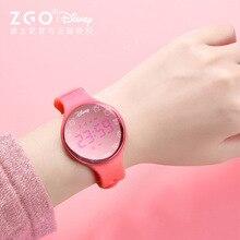 Disney оригинальные электронные часы мужские водонепроницаемые трендовые студенческие умные многофункциональные спортивные браслет часы женские электрические светодиодные