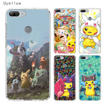 Uyellow Cute Pokemans Pikachus Phone Case For Huawei Honor 8A 8X 8C 8S 9 9X 10 20 lite Pro For Honor Play 20i V20 Silicone Cover цена