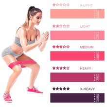 Yoga Training Fitness Gum Exercise Gym Strength Resistance Bands Pilates Sport Rubber Fitness Bands Crossfit Workout Equipment