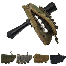 Bullet-Holder-Bag Ammo-Box Rest-Pouch Cartridge Magazine Rifle Butt-Stock Cheek Adjustable