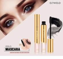 O. rímel de maquiagem de olhos tw o.o, rímel espesso para alongamento de olhos, à prova d'água, ferramenta de cosméticos e à prova de manchas tslm2