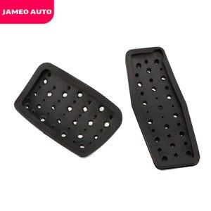 Image 4 - Jameo 自動ステンレス鋼車のペダルパッドペダルシボレークルーズ trax オペル mokka ためマリブ 2013 2018 アストラ j 記章