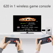 Video-Game-Console Game-Player Retro Built-In-620-Games Mini with TV Two-Wireless-Controller
