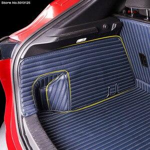Image 4 - Auto Alle inclusive Hinten Stamm Matte Auto Boot Liner Fach Hinten Stamm Abdeckung Für Mazda CX30 CX 30 2020 2021 Auto zubehör