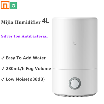 2020 New Xiaomi Mijia Humidifier 4L Air Purifier Aromatherapy Humificador Diffuser Essential Oil Mist Maker For Home Office