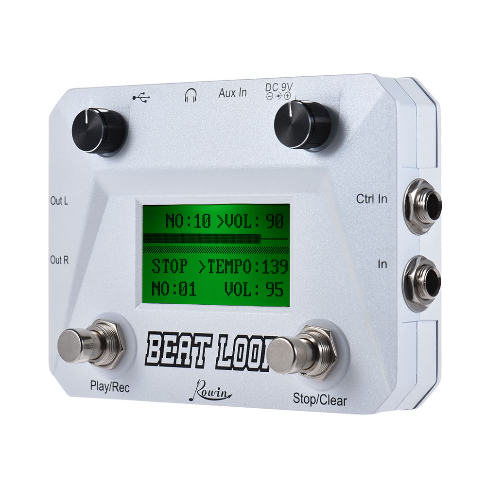 Rowin LBL 01 Looper Drum beat loop effect pedal effect and musical instrument accessories in Guitar Parts Accessories from Sports Entertainment