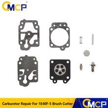 Carburetor Repair-Kit Garden-Tools for 1E40F-5 Brush-Cutter Diaphragm Gasket-Needle