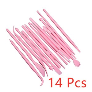 14Pcs Plastic Clay Sculpting S