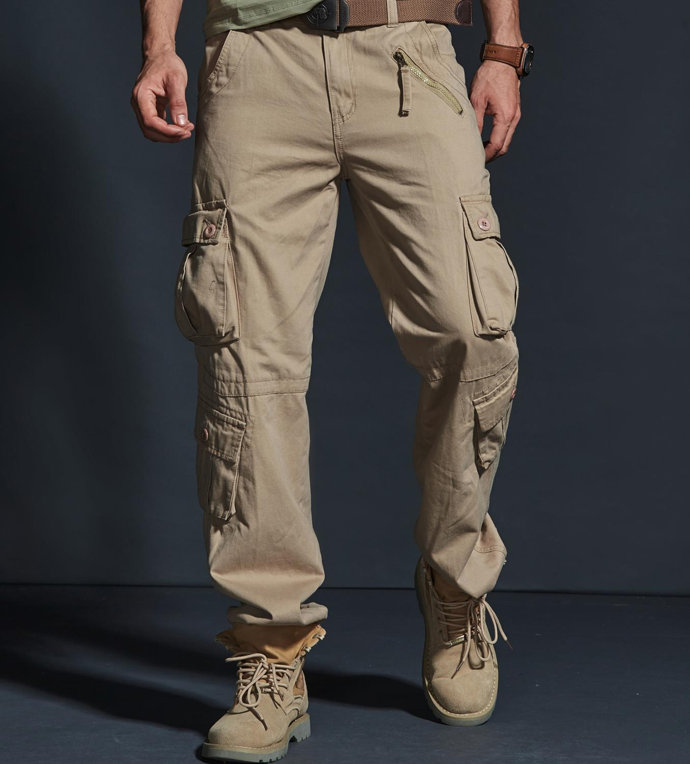 2020 NEW Military Pant Tactical Cargo Pants Man Cargo Pants Camouflage Overalls Men  Elastic Straight  Casual Pants Male FSN-022