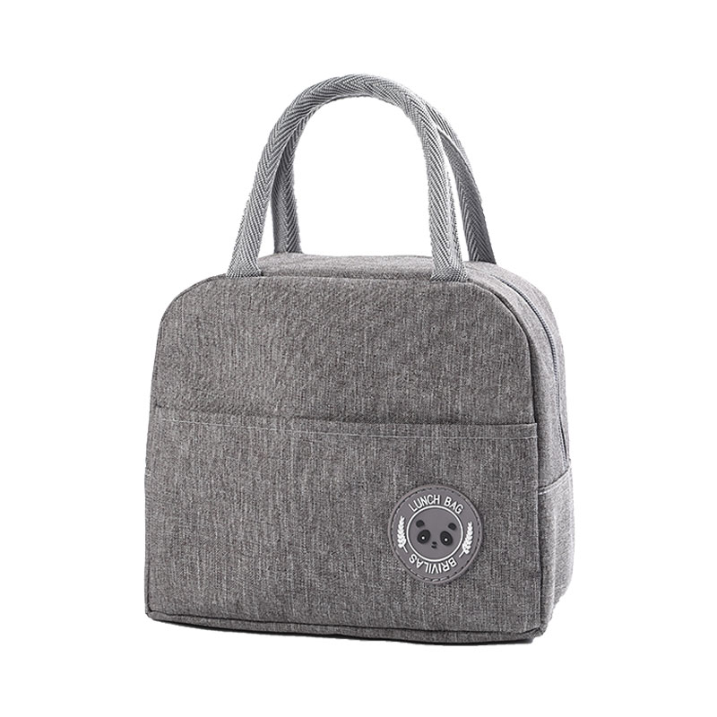 Insulated Lunch Bag Thermal Lunchbox Cooler Picnic Bags Meal Prep Polyester Kids Food Thermos Office Lunch Box