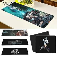 Maiya Top Quality Final Fantasy VII Customized laptop Gaming mouse pad Free Shipping Large Mouse Pad Keyboards Mat(China)