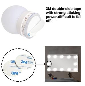 Image 2 - LED 12V Makeup Mirror Light Bulb Hollywood Vanity Lights Stepless Dimmable Wall Lamp 6 10 14Bulbs Kit for Dressing Table