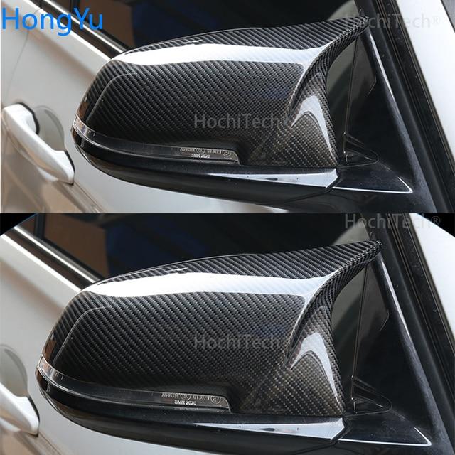 For BMW i3 i3S series 2014-2018 Mirror cap M3 M4 exterior mirror carbon fiber mirror mask 4