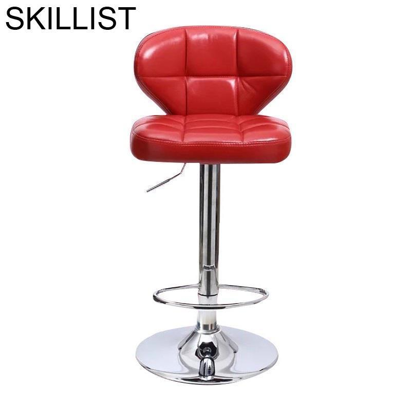 Sgabello Comptoir Fauteuil Stoelen Hokery Cadir Stoel Table Leather Cadeira Tabouret De Moderne Stool Modern Bar Chair