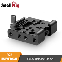 SmallRig Quick Release Clamp (Manfrotto Style) Standard Dovetail Clamp For Video Shooting Camera Cage To Tripod 1716