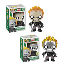 Funko Pop Marvel Ghost Rider Bobble Head Figuur Toys Collection Model Pop Speelgoed(China)