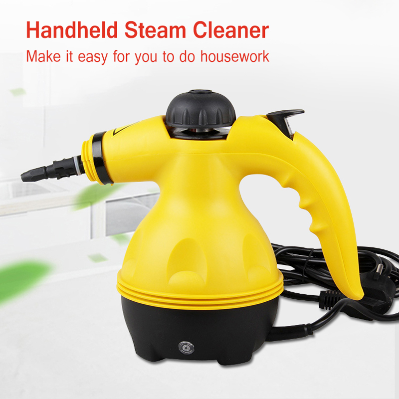 Multi-Purpose Eu Plug Electric Steam Cleaner Handheld Portable Pressurized Household Cleaner All-In-One Sanitizer Kitchen 220V