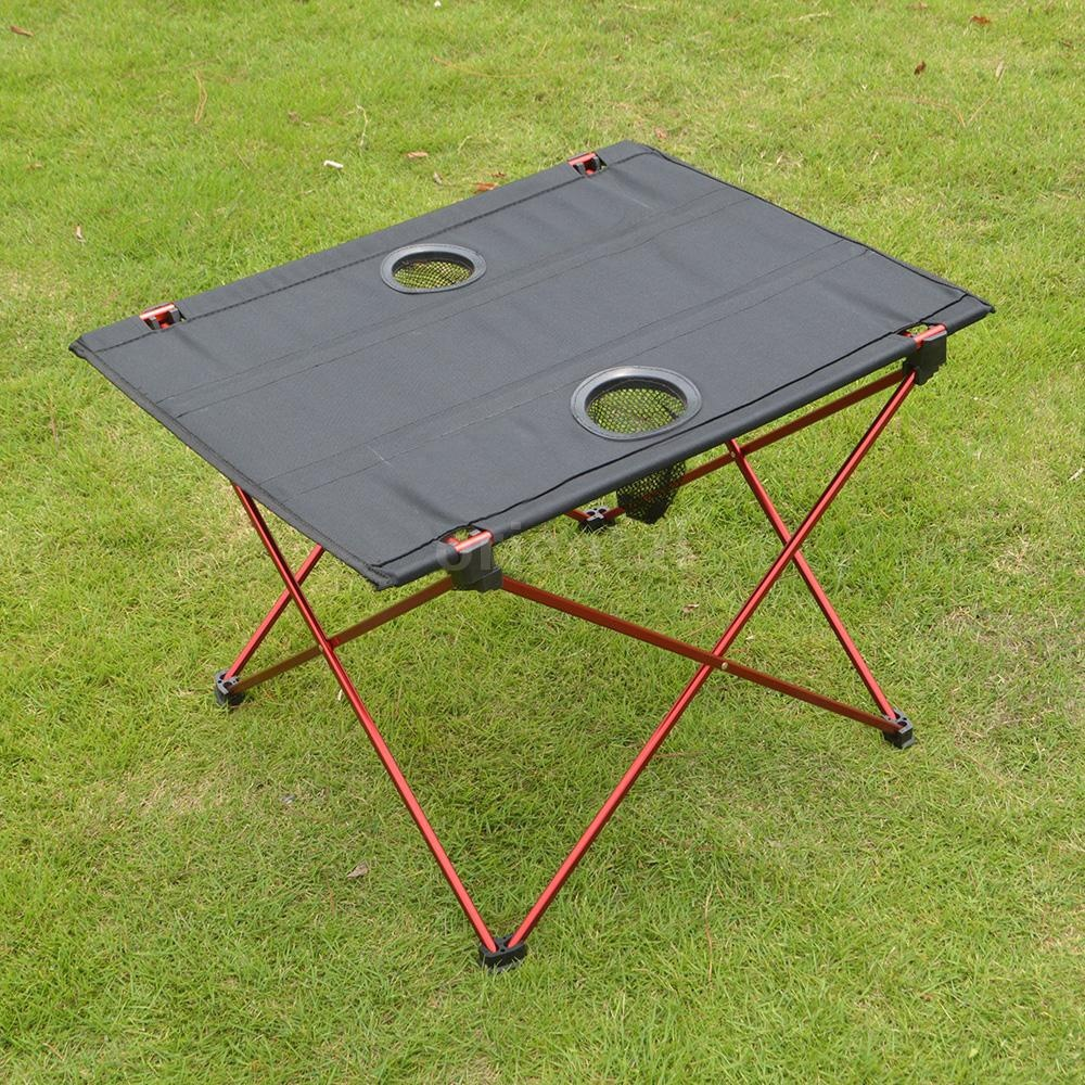 Camping Picnic Foldable Table Outdoor Fishing Hiking Supplies Portable Lightweight Folding Desk
