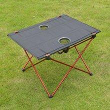 Table pliante pour Camping pêche randonnée, léger et Portable
