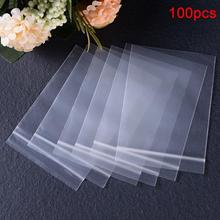 100Pcs for Ziplock Reusable Poly Jewelry Reclosable Kitchen Food Storage Sealing Bag