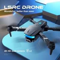 Eachine y LSRC LS-878 Mini Drone HD 4k Profesional con doble cámara Wifi FPV altitud plegable avión RTF RC Quadcopter Drone