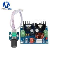 Módulo regulador de voltaje de DC-DC XL4016, tablero reductor de alta potencia 8A con potenciómetro externo, 200W