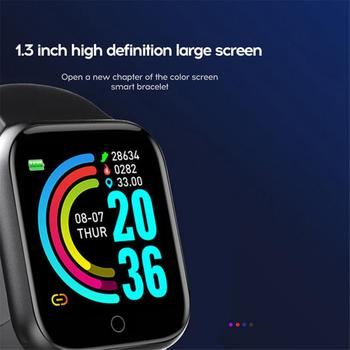 Smart Watch Men Y68 Bluetooth Fitness Tracker Sport Watch Heart Rate Monitor Blood Pressure Smart Bracelet Men Women Smart Watch 4