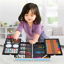 208 couleurs/1 ensemble avec boîte-cadeau couleur stylo créatif couleur Graffiti stylo enfant peinture fournitures étudiant pape