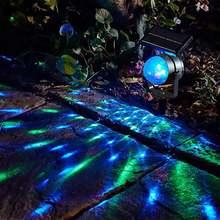 Проектор на солнечной батарее Светодиодный проекционный светильник