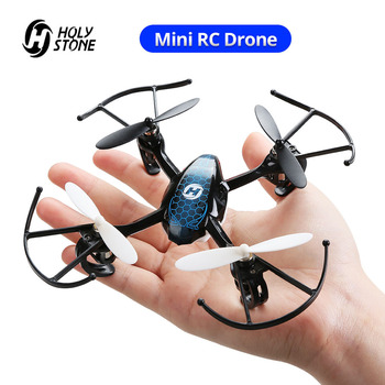 Holy Stone HS170 Predator Mini RC Drone Helicopter 2.4Ghz 6-Axis Gyro 4 Channels Quadcopter 3 Speed Mode Wind-resistant Drone mini drone jjrc h36 4pcs battery headless mode 6 axis gyro 2 4ghz rc drones remote control helicopter quadcopter vs h20 h8 h37