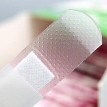 160 teile/los band aid Transparent Wasserdicht Atmungsaktiv Klebstoff Bandage Erste Hilfe Notfall Kit