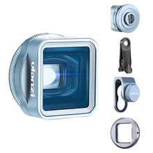 Ulanzi 1.33xt Anamorphic レンズワイドスクリーンの映画レンズ Videomaker フィルムメーカーユニバーサル iphone 11 シリーズサムスン華為 Xiaomi
