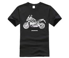 Roda de marcas para homens cortes com cuello redondo fãs japonês de moto nc750x dct abs