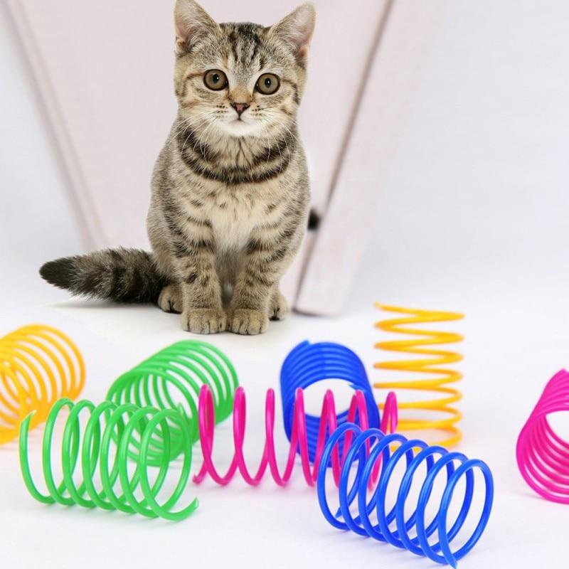 FairytaleMM Color Vibrante 3 Capas de formaci/ón del Gato Gatos Juegos Interactivos Juguete para Gatos Rat/ón mercanc/ías Plato rotativo Cat Suministros Naranja