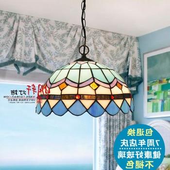 Crown Promotional Tiffany Lighting Lamps Bedroom Lamps Modern Minimalist Living Room Lamp Mediterranean Style Restaurant