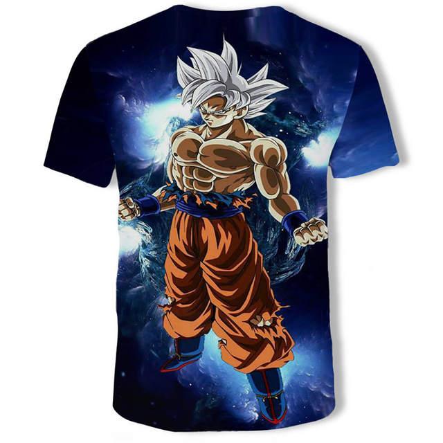 Cosplay 3D Dragon Ball Z-Super Gokuu Den Totsugeki Hen T-shirt