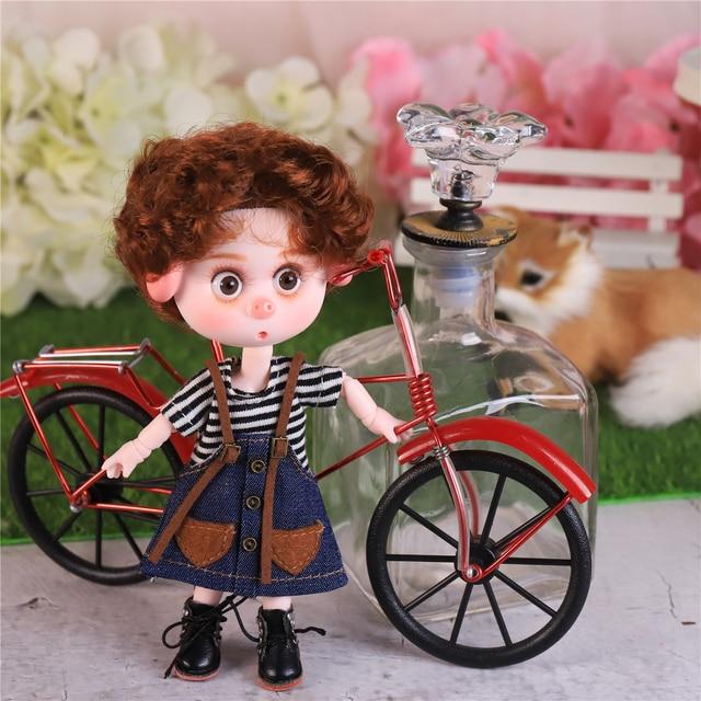 DBS Dream Fairy 1/12 BJD DODO doll 15cm doll toy ob11 mini doll with clothes shoes 3