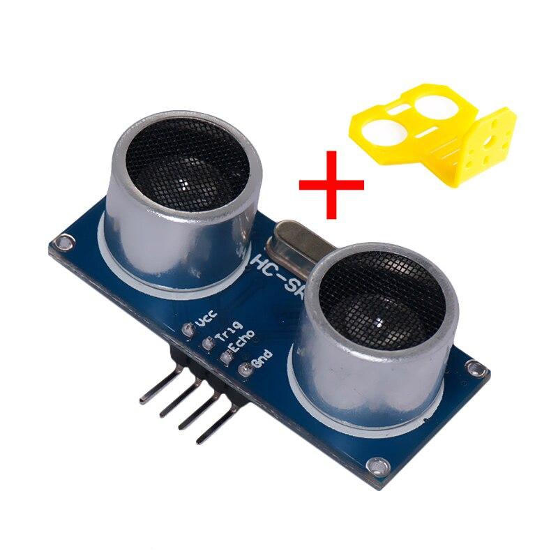 Módulo ultrassônico sensor conversor de distância, HC-SR04-5v para arduino detector de ondas, módulo de variação